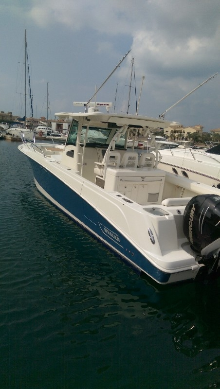 2013 Boston whaler 370 Outrage
